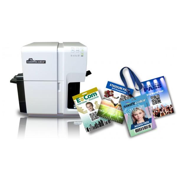 Impresora de credenciales swiftcolor SCC4000D