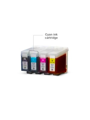 Cartucho de tinta Swiftcolor Cyan (105 ml)