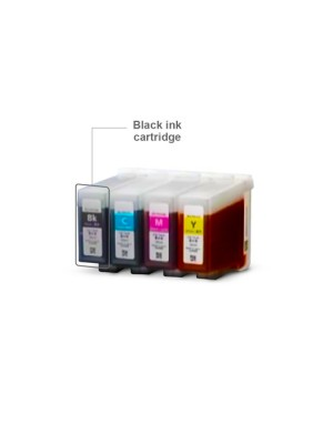 Cartucho de tinta Swiftcolor negro (105 ml)