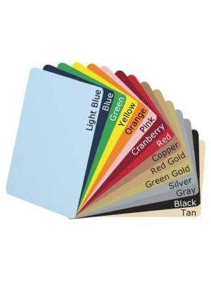 Tarjetas PVC de varios colores CR8030COLOR