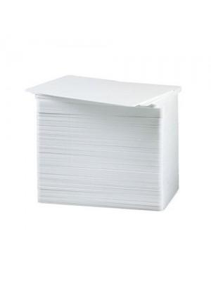 Tarjetas blancas de PVC de .30 mil - Calidad Gráfica - 500 piezas
