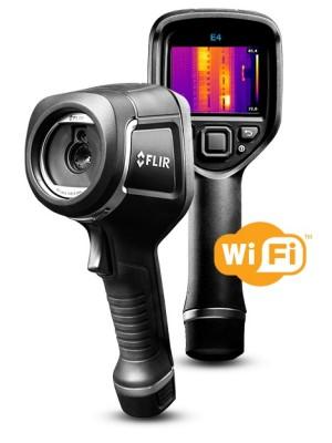 Camara de infrarrojos con MSX y Wifi - FLIR E4 WIFI