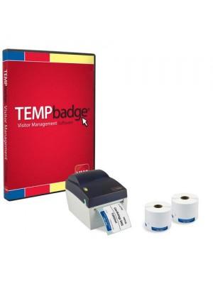 Sistema de gestión para visitantes TEMPbadge VMS - 06196
