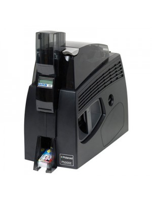 Impresora de tarjetas Polaroid P5000E de doble cara con laminación de doble cara