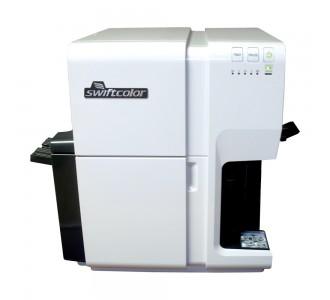 Impresora de credenciales por inyección de tinta