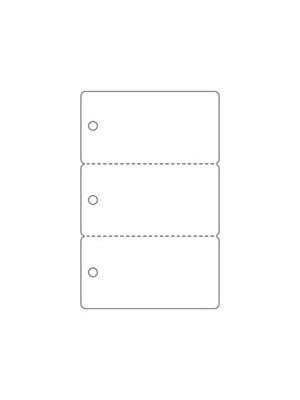 Tarjetas plasticas precortadas key tag 800303UPGQ - cantidad 1000