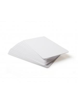 Tarjetas blancas de PVC de .10 mil - Calidad Gráfica - 500 piezas