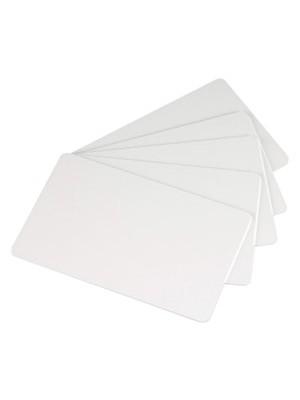Tarjetas blancas de PVC de .20 mil - Calidad Gráfica - 500 piezas