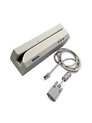 MSR206-33 de 3 pistas Lector de banda magnética. (Descontinuado)